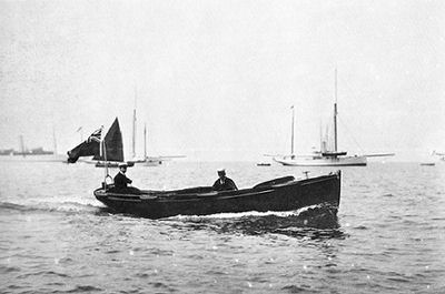 Customs Launch Nimble 1906
